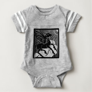 happy Pegasus Baby Bodysuit
