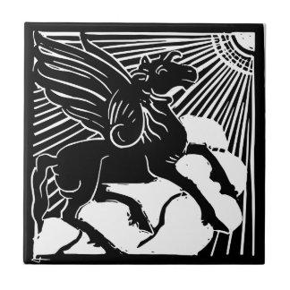 happy Pegasus Tile
