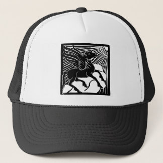 happy Pegasus Trucker Hat