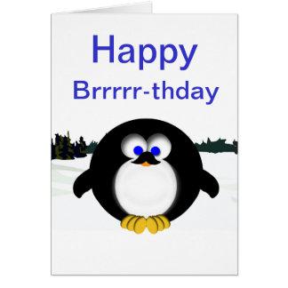 Happy Penguin Card