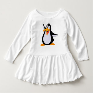 Happy Penguin Cartoon Dress