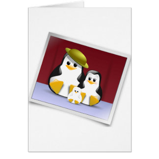 Happy Penguins Note Cards