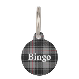 Happy Pet Clan Moffat Tartan Plaid Pet Name Tag
