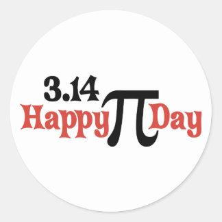 Happy Pi Day 3.14 - March 14th Round Sticker