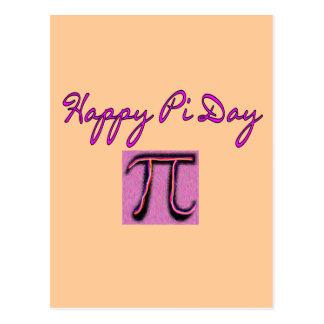 Happy Pi Day--Artsy Postcard