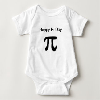 Happy Pi Day Baby Bodysuit