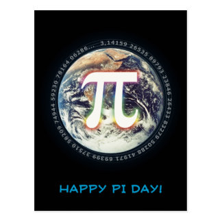 Happy Pi Day | Celebrate Postcard
