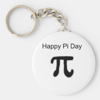 Happy Pi Day Keychain
