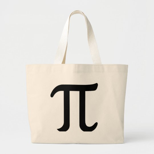 Happy Pi Day Large Tote Bag