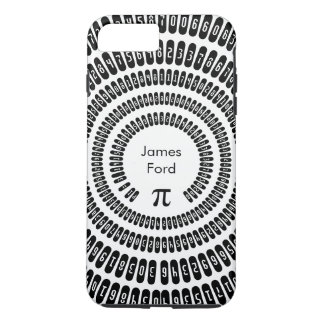 Happy Pi Day Math Digits 3.14 Mathematics Funny iPhone 8 Plus/7 Plus Case