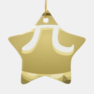 happy pi day pie ceramic ornament