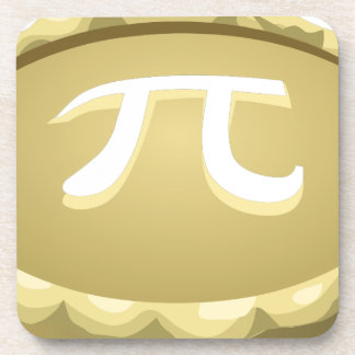 happy pi day pie coaster