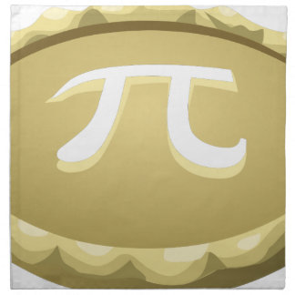 happy pi day pie napkin