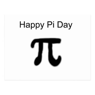 Happy Pi Day Postcard