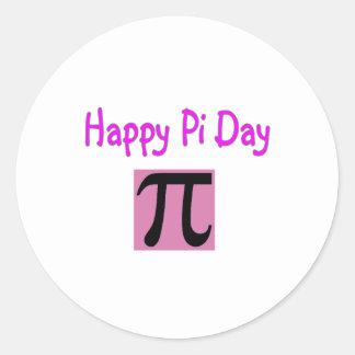 Happy Pi Day Round Sticker