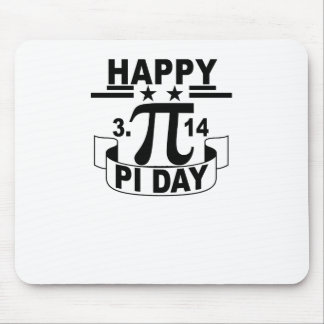 Happy Pi Day T-Shirt . Mouse Pad