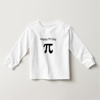 Happy Pi Day Toddler T-shirt