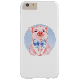 Happy Pig Barely There iPhone 6 Plus Case