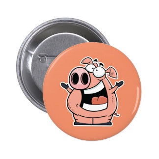 Happy Pig Button