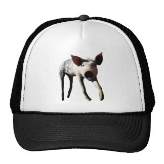 Happy Pig Long Leg Funny Trucker Hat
