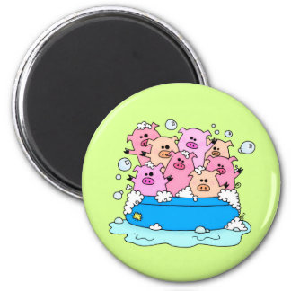 Happy Pig Magnet