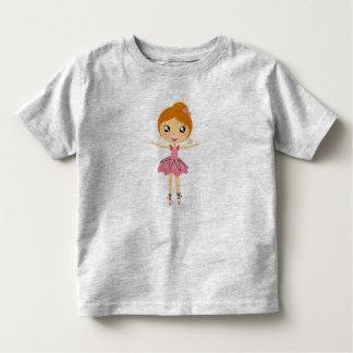 HAPPY PINK BALLERINA Designers tshirt