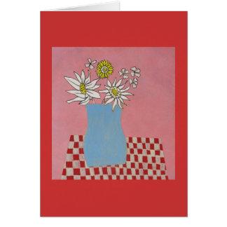 Happy Pink Daisy Card