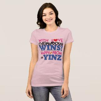 Happy Pink Prom Yinz Tee