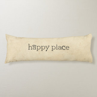 happy place body pillow
