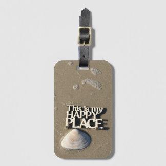 Happy Place Luggage Tag II