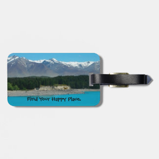 Happy Place New Zealand Luggage Tag