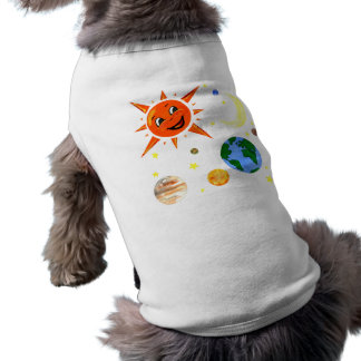 Happy Planets and Space Pet Tshirt