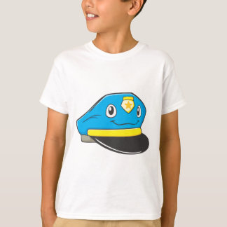 Happy Police Officer Hat Tshirts