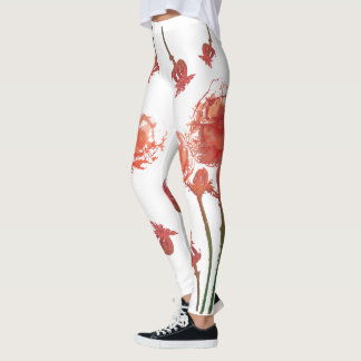 Happy Poppy Leggings