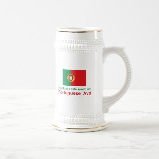 Happy Portuguese Avo (Grandfather) Mug