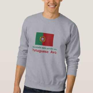 Happy Portuguese Avo (Grandfather) Sweatshirt