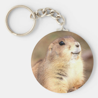 Happy Prairie dog keychain