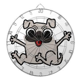 Happy Pug Dartboard