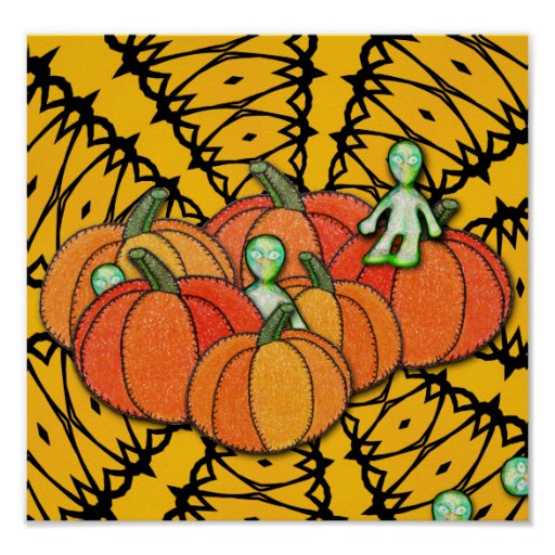 Happy Pumpkin Day from the aLiEnS! Poster