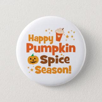 Happy Pumpkin Spice Season 2 Inch Round Button