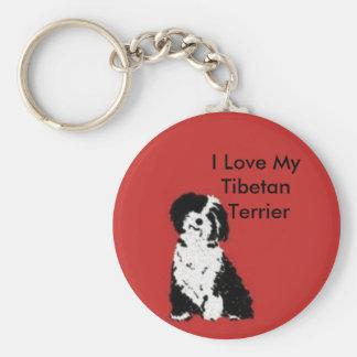 Happy Pup Keychain