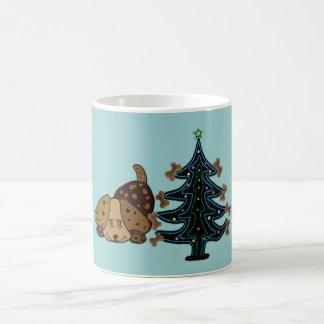 Happy Puppy Christmas Mug