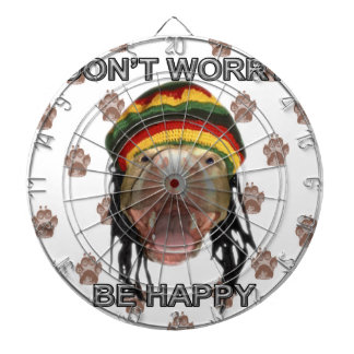 Happy Puppy Dartboard