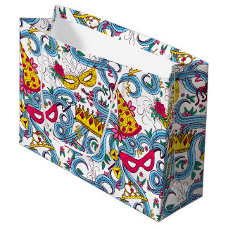 Happy Purim Colorful Gift Bag
