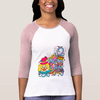 Happy Purim Colorful Women's Raglan T-Shirt