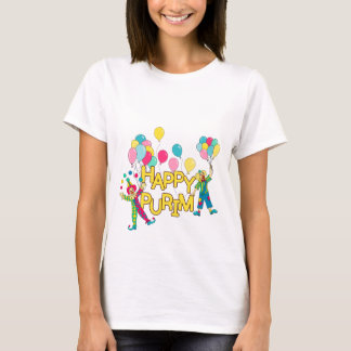 Happy Purim Colorful Women's T-Shirt