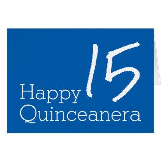 Happy Quinceanera Card