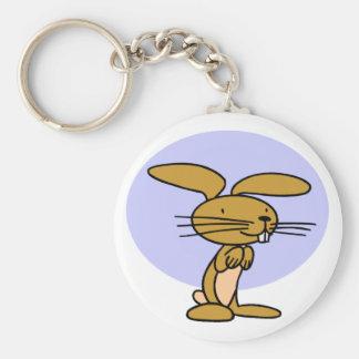 Happy Rabbit Keychain