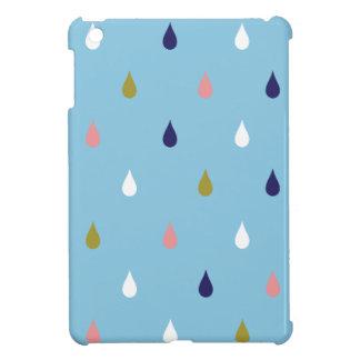 Happy rain drops iPad mini cases