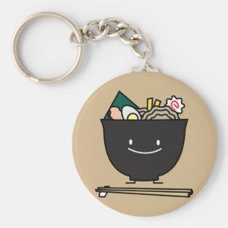 Happy Ramen Bowl Keychain